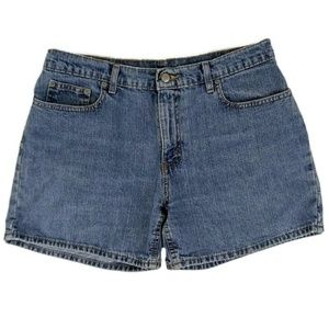 Ralph Lauren Women's High Waist Denim Jean Shorts